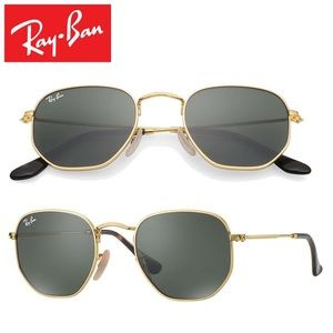 Ray-ban hexagonal 51mm Sunglasses